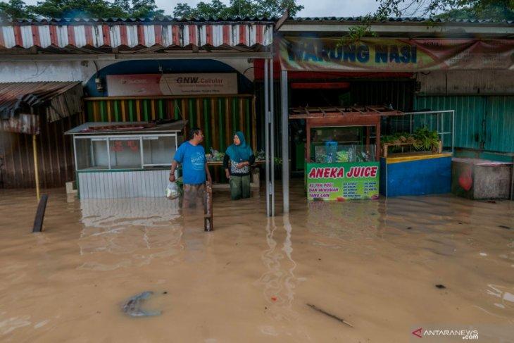 Puluhan rumah warga kebanjiran di Kabupaten Lebak