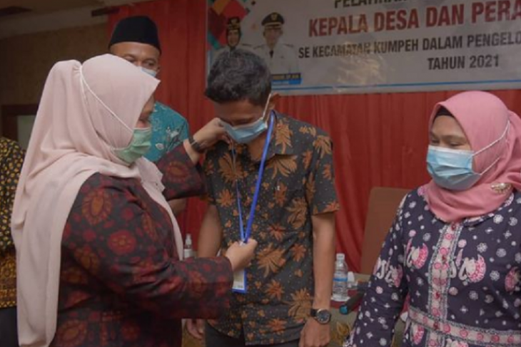 Bupati Masnah meminta kades berhati-hati kelola dana desa