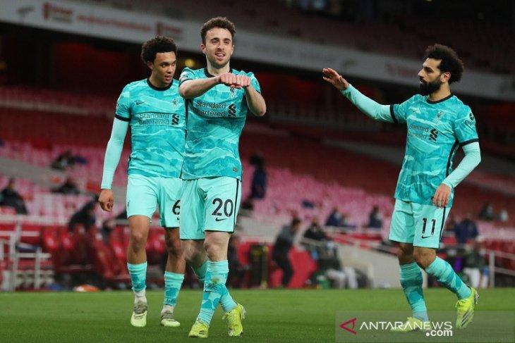 Liga Inggris: Diogo Jota pimpin Liverpool babat Arsenal 3-0
