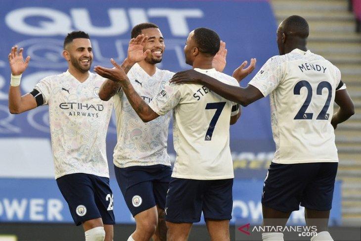 Liga Inggris: Manchester City kini unggul 17 poin di puncak