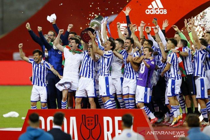 Real Sociedad juarai Copa del Rey 2019/2020