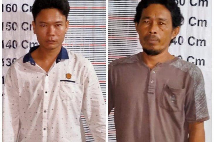 Polsek Pangkalan Berandan tangkap dua pemilik sabu-sabu