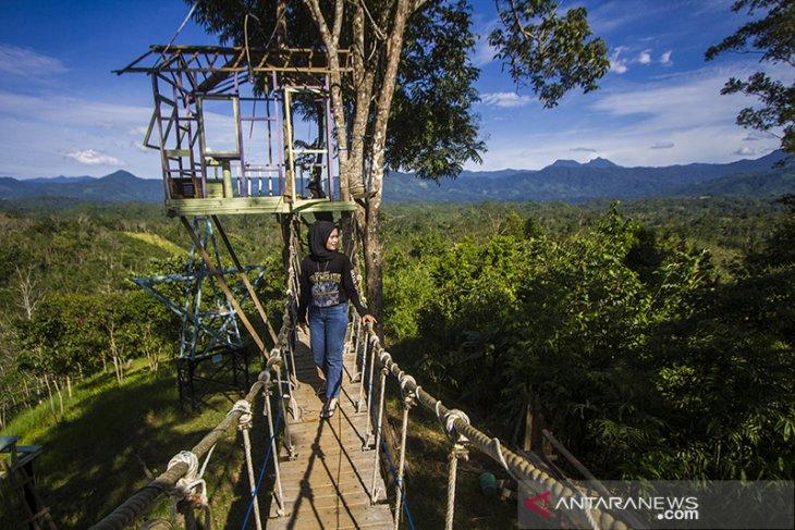 Wisata Kampung Bambu Di Kalsel