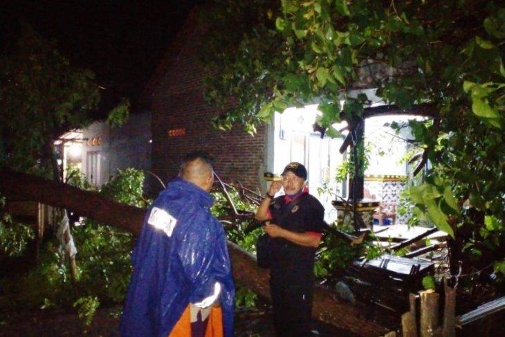 Puluhan rumah warga Situbondo porak-poranda diterjang angin kencang