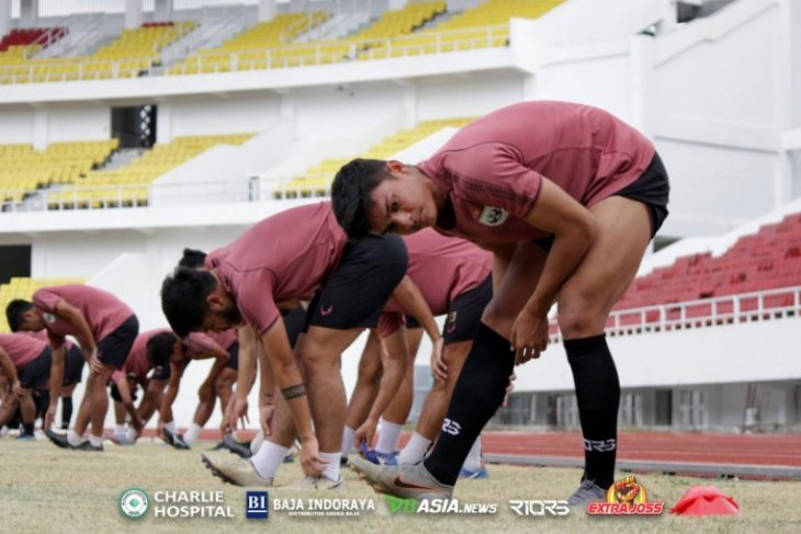 PSIS menjajal Stadion Jatidiri Semarang untuk berlatih