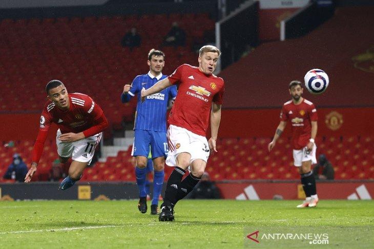 Rahsford dan Greenwood antar Manchester United tundukkan Brighton 2-1
