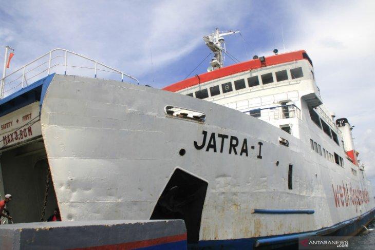 Kapal Ferry ASDP Kupang terbaru , KMP Jatra 1 tenggelam di Bolok akibat kebocoran