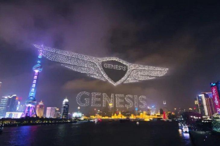 Genesis memecahkan rekor terbangkan 3.281 drone di langit China