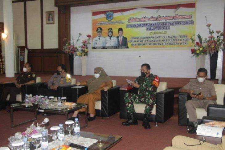 Forkopimda Paser gelar silaturahmi dengan forum mitra pemerintah daerah
