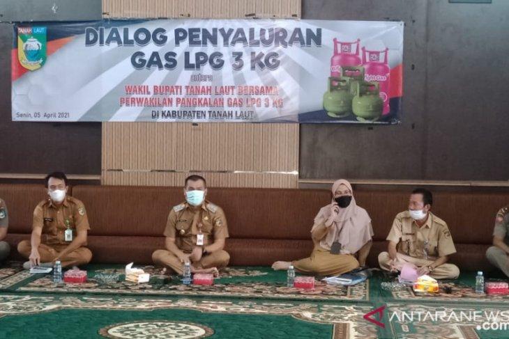 Wabup : Penerima gas LPG 3 kilogram berdasarkan kartu keluarga