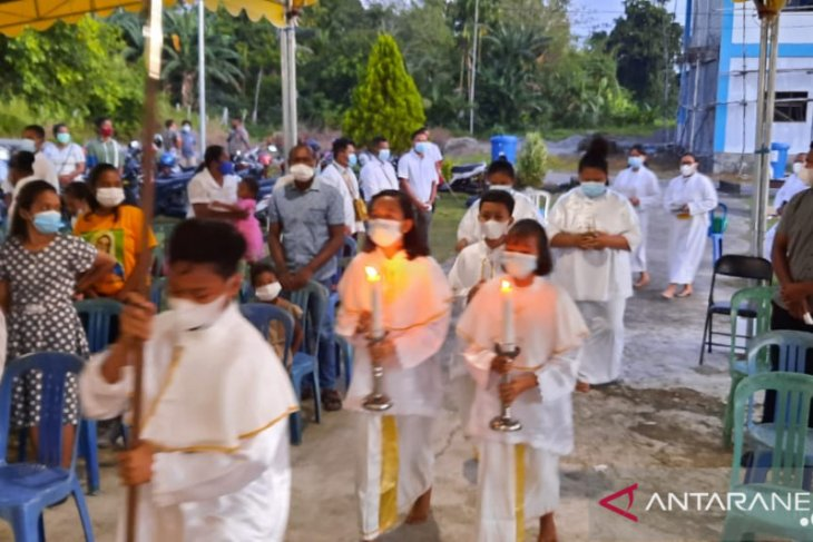 Perayaan Paskah di Wondama berjalan dengan hikmah