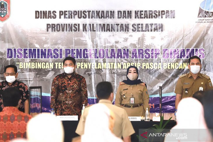 Wakil Ketua DPRD Kalsel Hadiri Acara Diseminasi Pengelolaan Arsip Dinamis