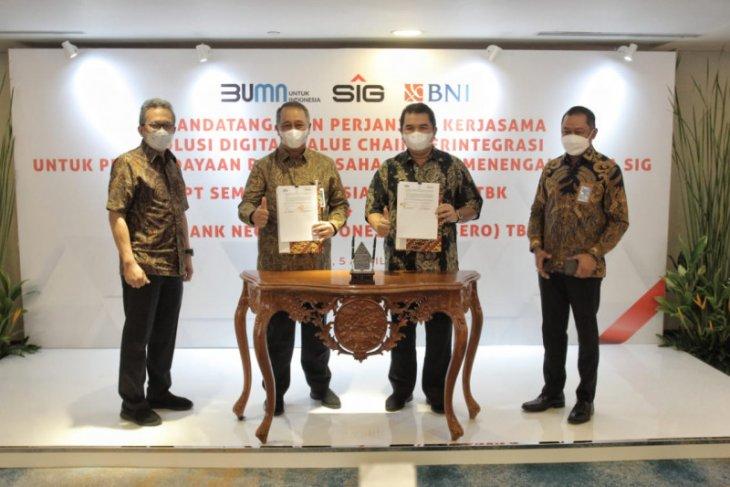 BNI bersama Semen Indonesia terapkan solusi