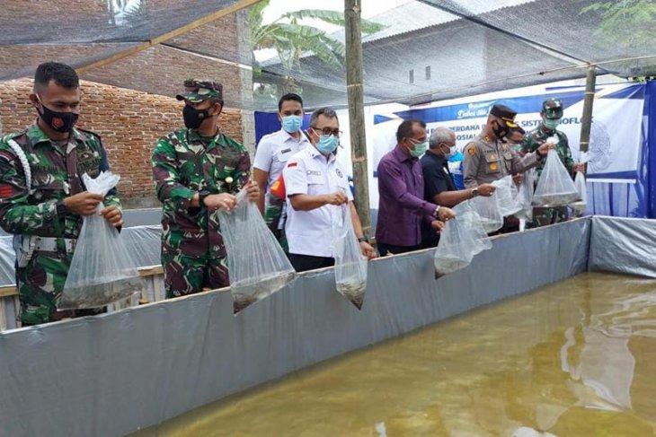 BNNP Aceh Gandeng BI resmikan gampong bersinar