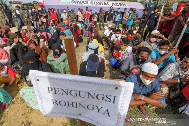 Imigran Rohingya tersisa di Lhokseumawe tinggal 10 orang