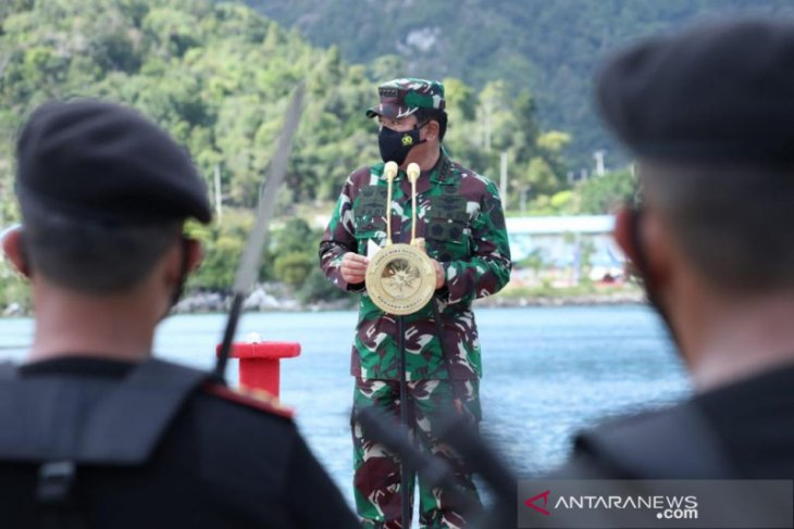Panglima TNI sebut KRI Alugoro-405 wujud mitra strategis Indonesia-Korsel