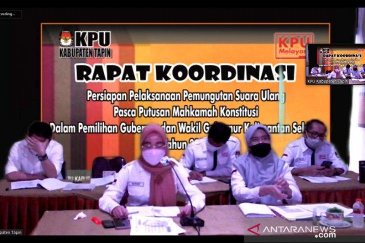 KPU Tapin mulai penerimaan badan ad hoc PSU di 24 TPS