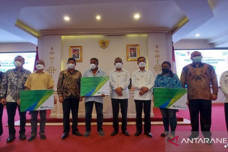 BPJAMSOSTEK Maluku proses 55 klaim santunan tenaga kerja rentan jaminan ahli waris
