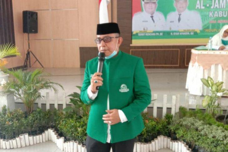 Syahrizal MZ terpilih menjadi Ketua Al Jamiyatul Washliyah Langkat