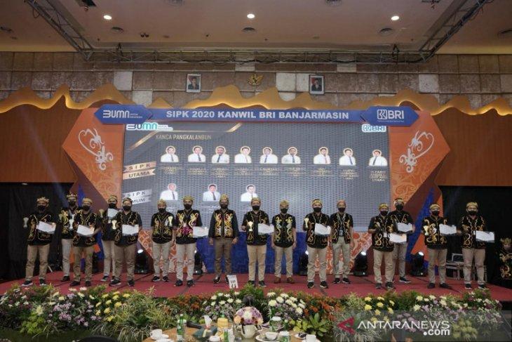 118 unit Kanwil BRI Banjarmasin terima penghargaan SIPK