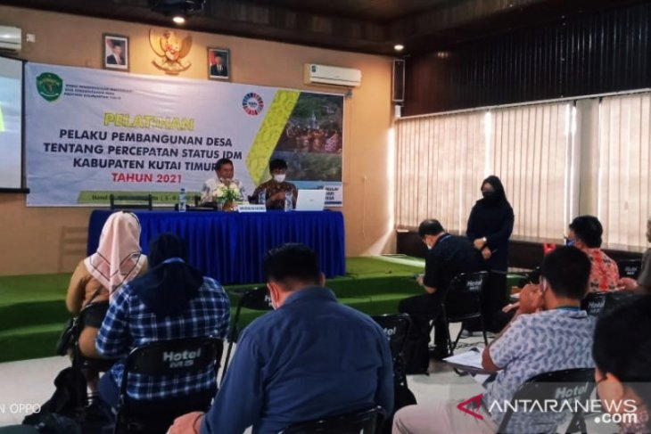 DPMPD Kaltim bedah Indeks Desa Membangun di Kabupaten Kutai Timur