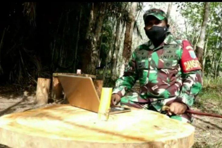 Program TMMD-110 Putussibau kibarkan bhakti TNI Bumi pertiwi