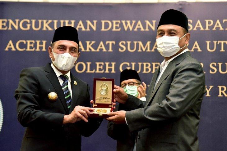 Gubsu kukuhkan Mukhtar jadi Ketum DPP Aceh Sepakat 2021-2026