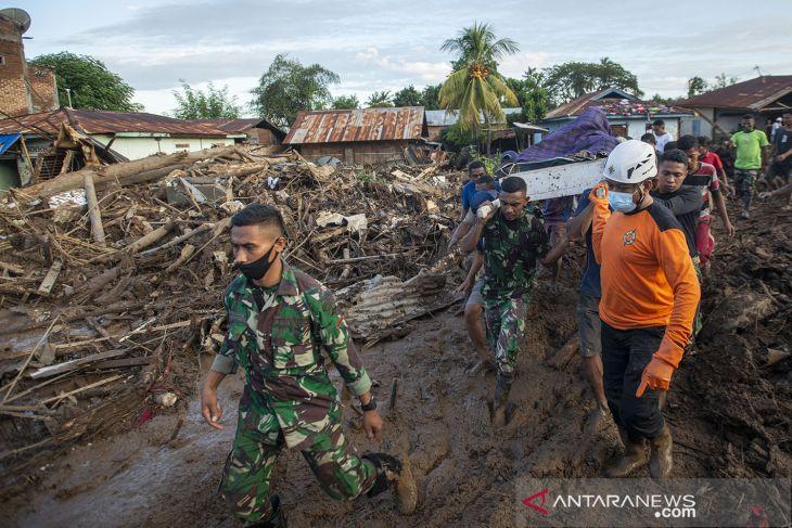 BNPB : Korban jiwa akibat bencana alam di NTT bertambah jadi 124 orang
