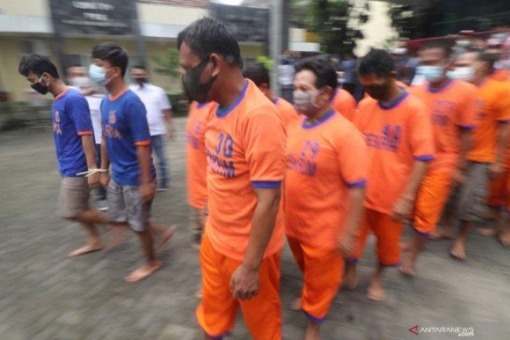 Operasi Pekat Semeru 2021 Polres Madiun Kota ungkap 20 kasus