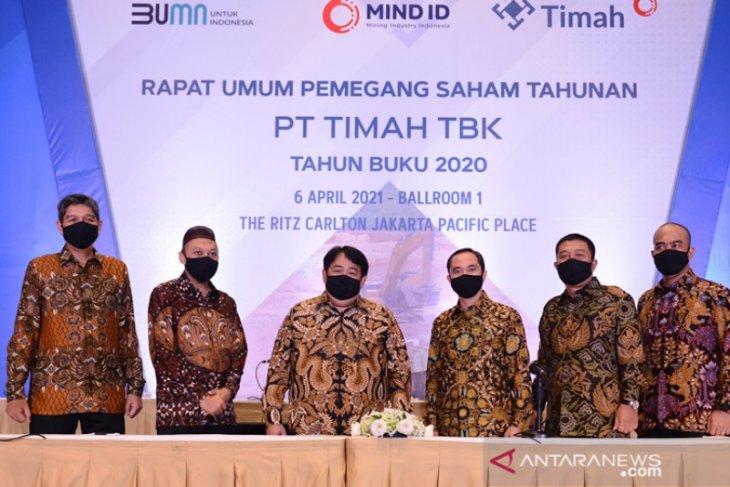 PT Timah bukukan pendapatan usaha Rp15,22 triliun