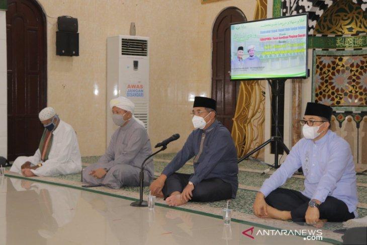 Jelang Ramadhan, jajaran Pemkab HSS silaturrahmi dengan Guru Syairazi