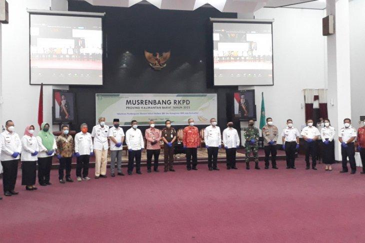 Bupati Kapuas Hulu ikuti Musrenbang tingkat provinsi