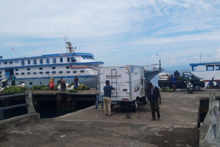 KSOP Ternate  Biaya logistik kapal motor antarpulau jelang Ramadhan normal