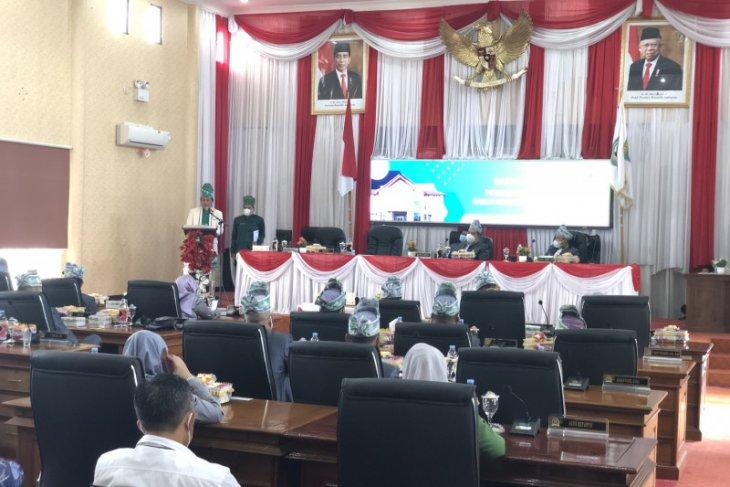DPRD Balangan gelar paripurna hari jadi ke-18 Kabupaten Balangan