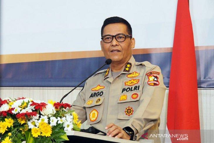 Polri: Terduga teroris FA bukan pengurus Muhammadiyah