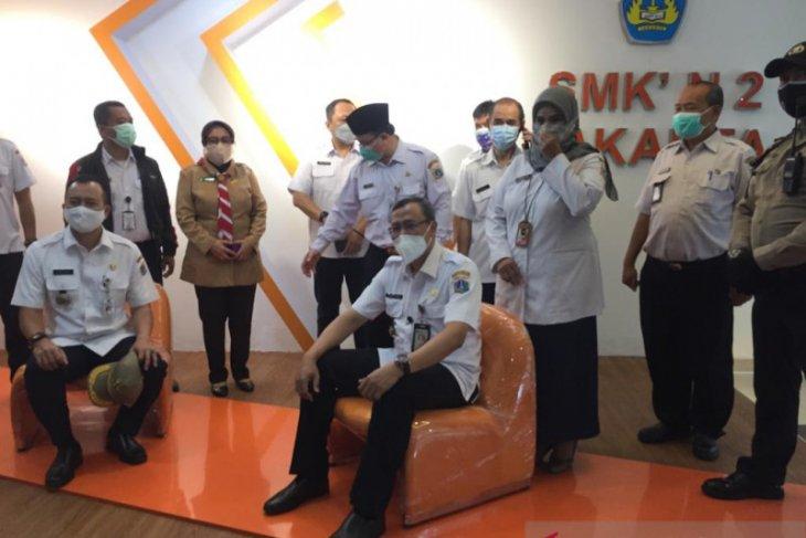 Jakarta Pusat uji coba 10 sekolah laksanakan belajar tatap muka