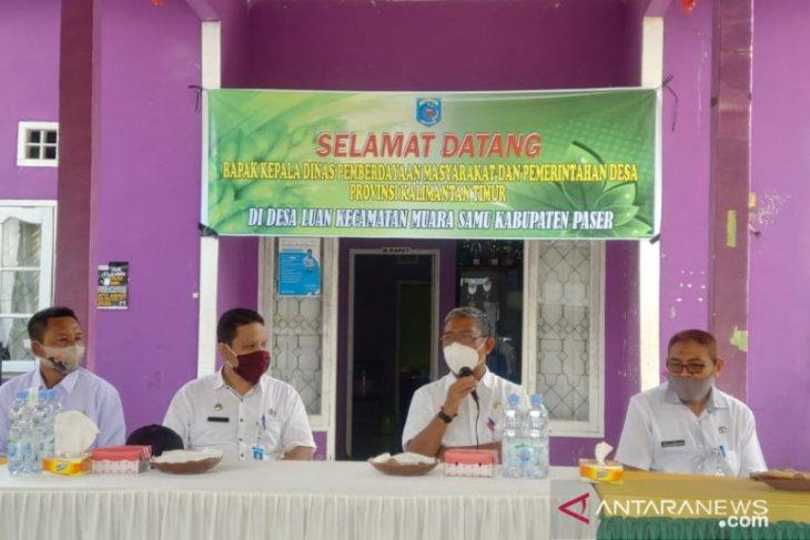 DPMPD Kaltim monitoring unit usaha BUMDes Desa Luan