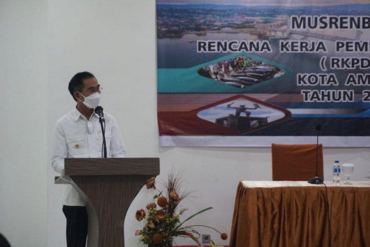 Musrembang Kota Ambon 2022 prioritas tujuh program pembangunan