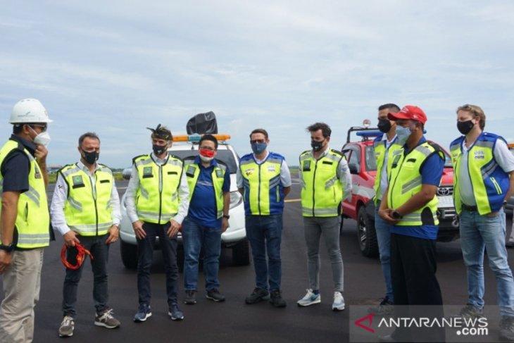 Dorna Sports cek kesiapan fasilitas Bandara Lombok sambut MotoGP