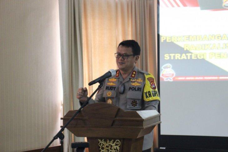 Kapolda Banten ajak tokoh agama  aktif cegah radikalisme