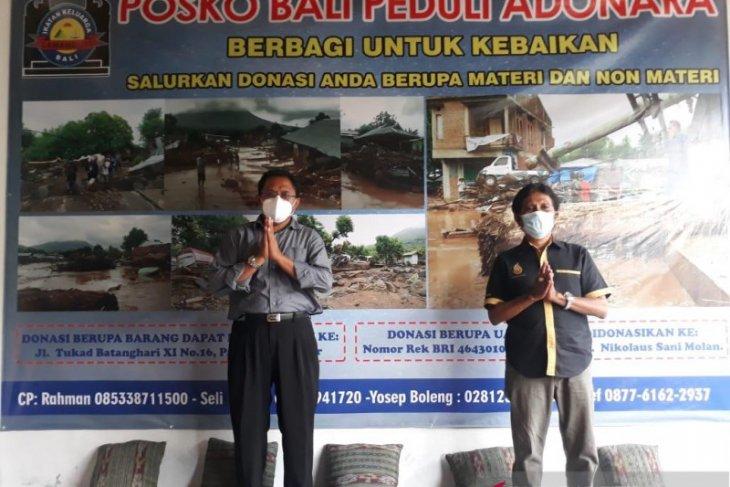 Paguyuban Lamaholot Bali buka posko peduli korban banjir NTT