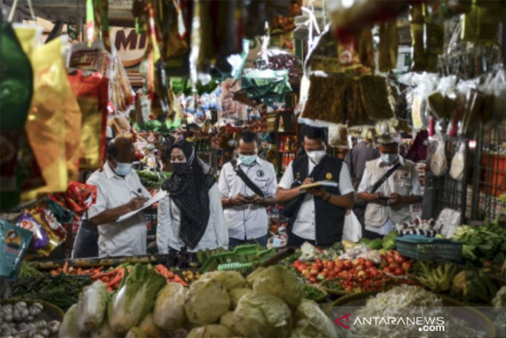 Sidak pasar jelang Ramadan