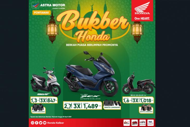 Honda Kalbar beri promo khusus angsuran sambut bulan suci Ramadhan