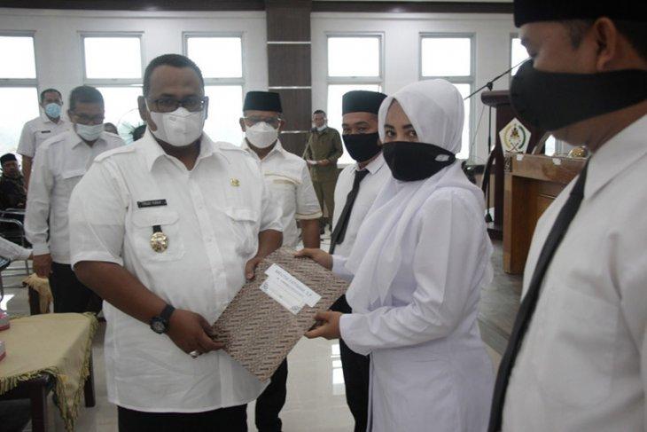 78 penyuluh pertanian di Aceh Utara terima SK formasi PPPK