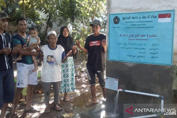 Markaz Dakwah UMM bangun sumur di sejumlah daerah kesulitan air