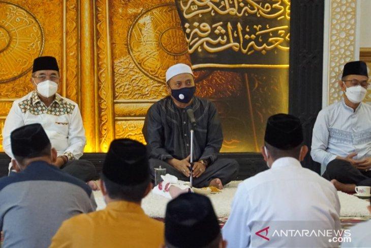 Tradisi jelang Ramadhan, Bupati HSS kembali kunjungi Guru Kapuh