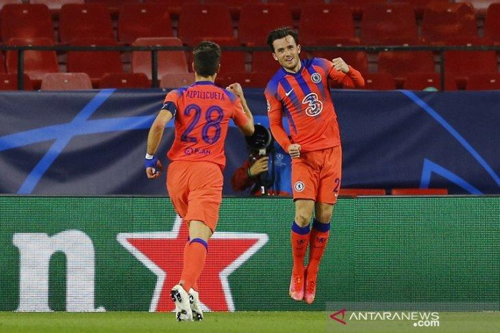 Chelsea menang meyakinkan  2-0  atas Porto di leg pertama