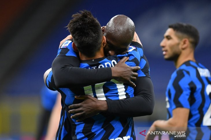 Romelu Lukaku bawa Inter Milan tundukkan Sassuolo 2-1