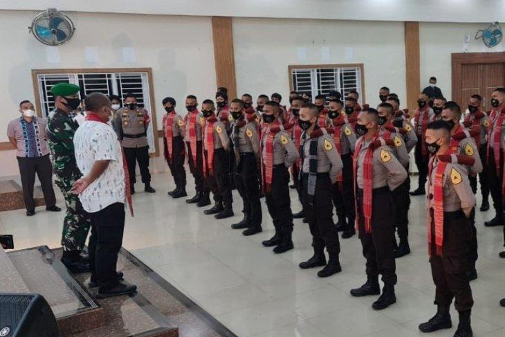195 taruna Polri dan TNI latihan integritas di Simalungun