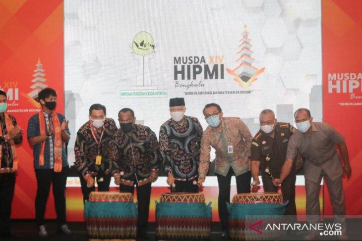 Gubernur Bengkulu minta HIPMI ikut dongkrak ekonomi daerah
